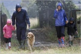 Dog-walking-in-the-rain